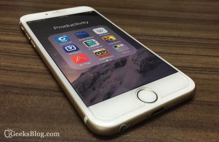 How to Create Nested Folders in iOS 9 on iPhone and iPad
