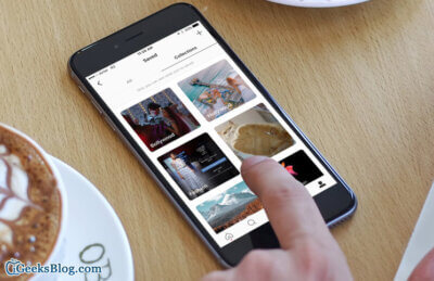 How to Create a Collection for Saved Posts in Instagram Posts on iPhone