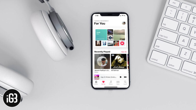 How to Disable Apple Music Listening History on iPhone and iPad