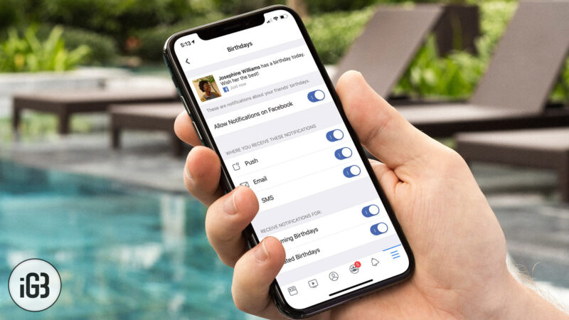 How to Disable Facebook Notifications on iPhone or iPad