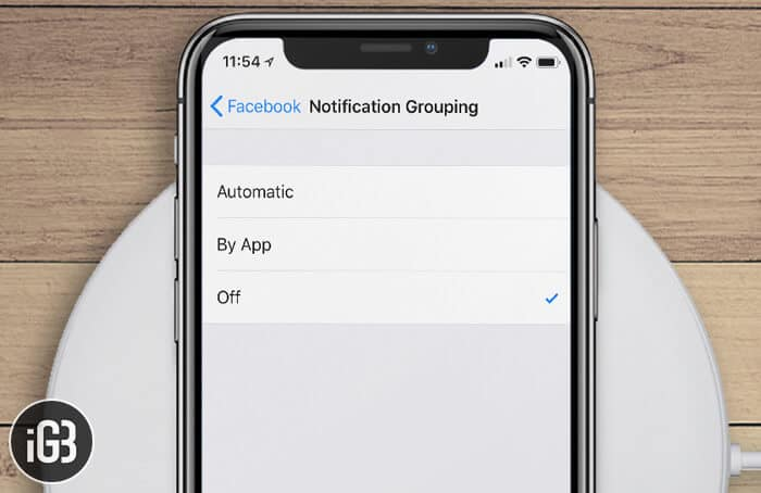 How to Disable Group Notifications in iOS 12