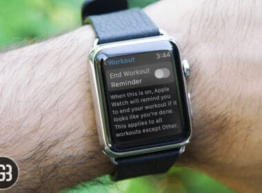 How to Disable Start-End Workout Reminders in watchOS 5