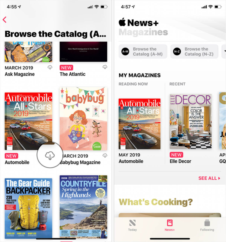 How to Download Apple News Magazines