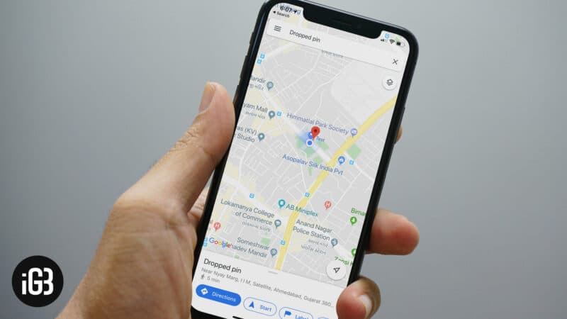 How to Drop Pin in Google Maps on iPhone or Android