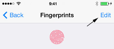 How to Edit Name of a Fingerprint