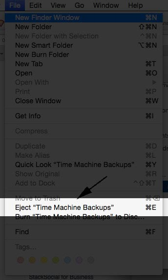 How to Eject Drive from Mac
