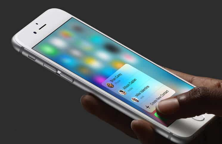 How to Enable-Disable 3D Touch on iPhone 6s