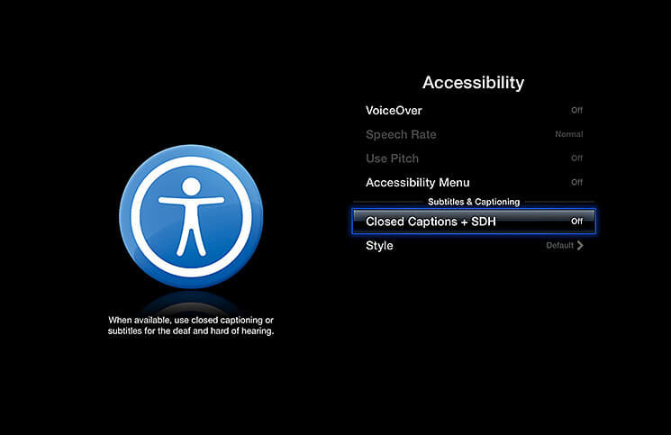 How to Enable Subtitles on Apple TV