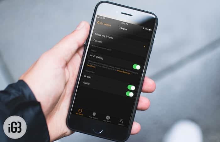 How to Enable WiFi Calling on Apple Watch