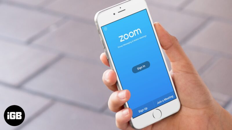 How to FIx Zoom App Not Working on iPhone