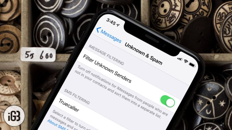 How to Filter iMessages from Unknown Senders on iPhone or iPad