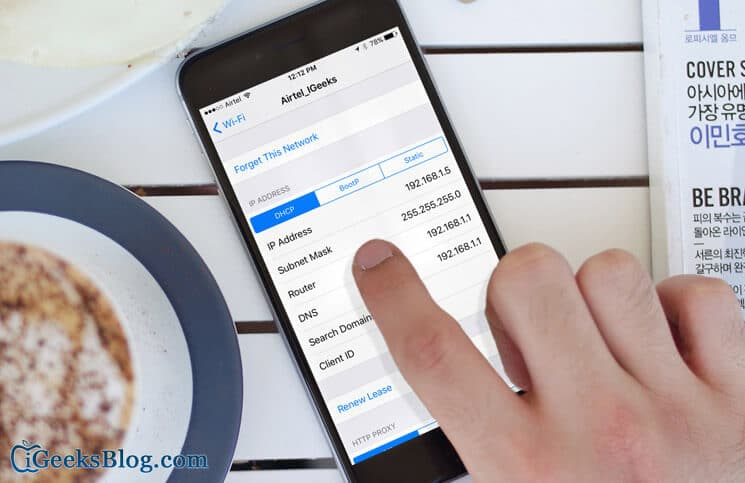 How to Find Router's IP Address Using iPhone or iPad