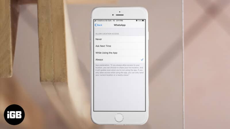 How to Fix Location Services Always On on iPhone
