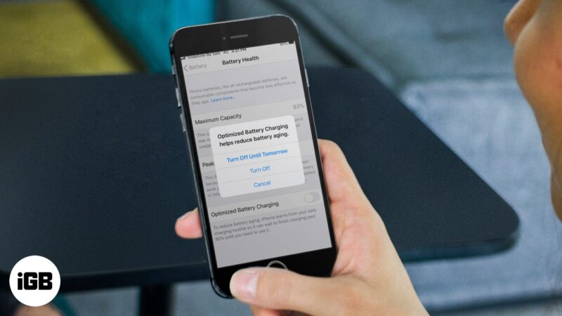 How to Fix Optimized Battery Charging Not Working on iPhone