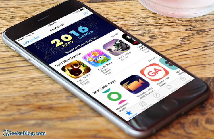 How to Force Refresh the App Store on iPhone or iPad