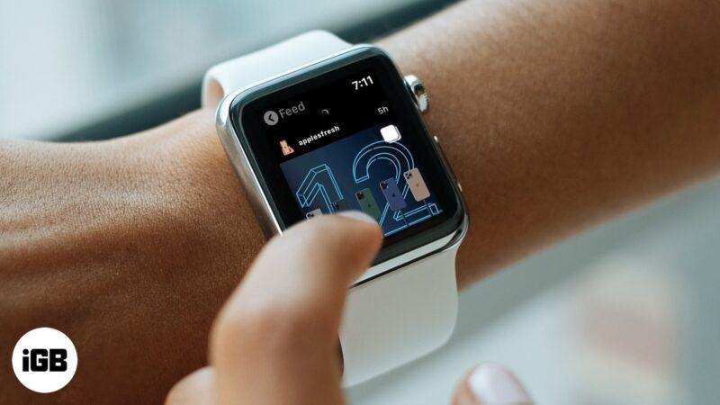 Как установить Instagram на свои Apple Watch