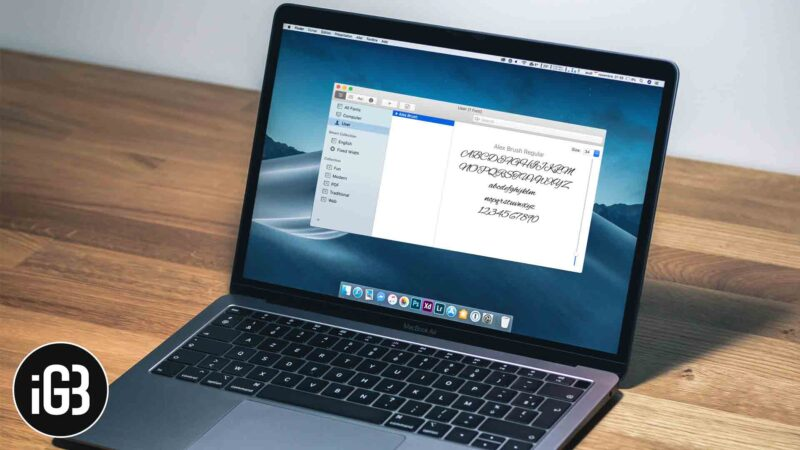 How to Get and Install Custom Fonts for macOS
