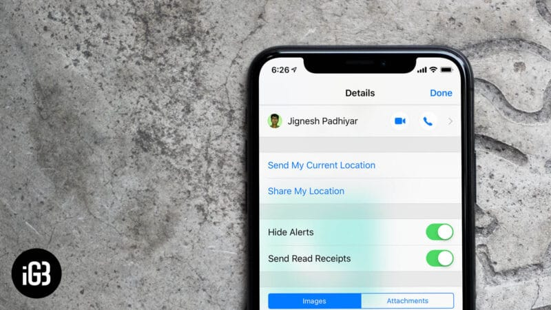 How to Hide Alerts from Specific Chats in Messages App on iPhone