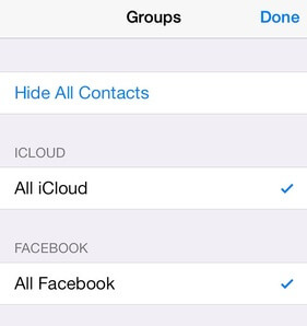 How to Hide Facebook Contacts from iPhone