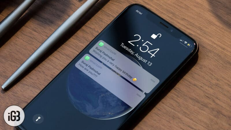 How to Hide WhatsApp Message Preview on iPhone and Android
