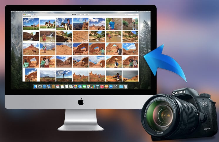 How to Import Photos from Digital Camera to Specific Folder on Mac