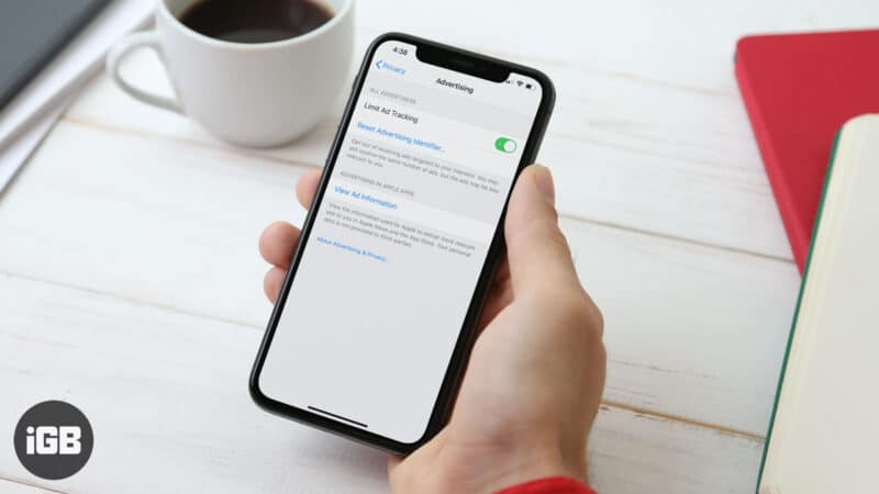 How to Limit Ad Tracking on iPhone or iPad