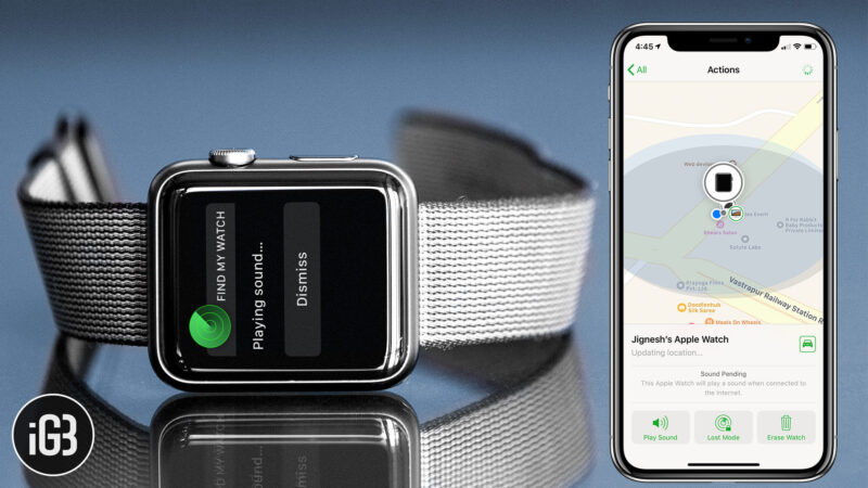 How to Locate Lost Apple Watch Using Find My iPhone