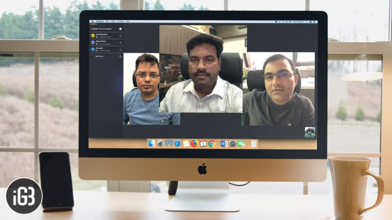 How to Make Group FaceTime Calls on Mac