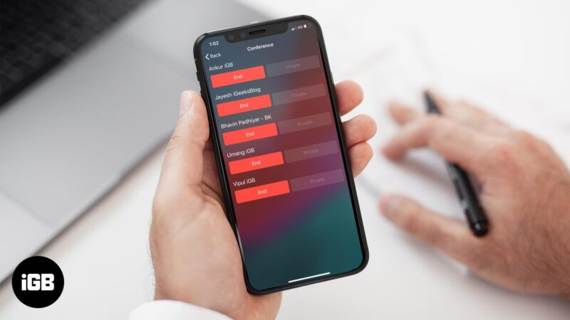 How to Make a Conference Call on iPhone
