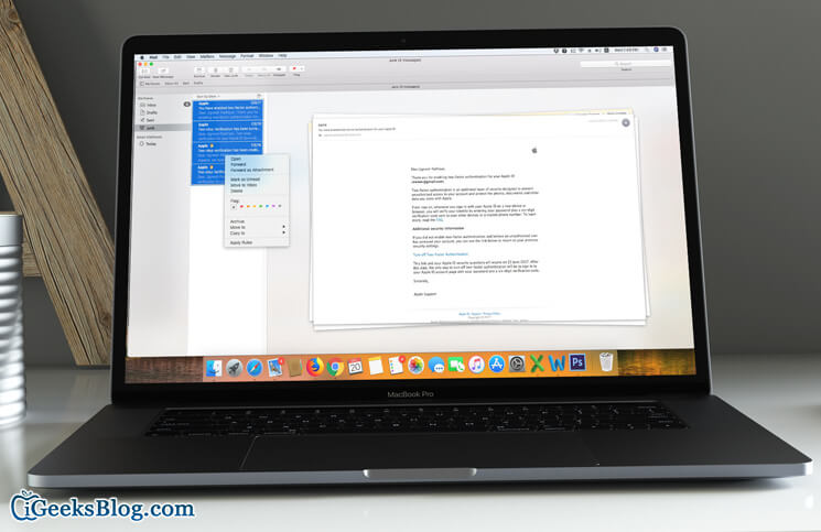 How to Move Email from Junk to Inbox in Mail App on Mac