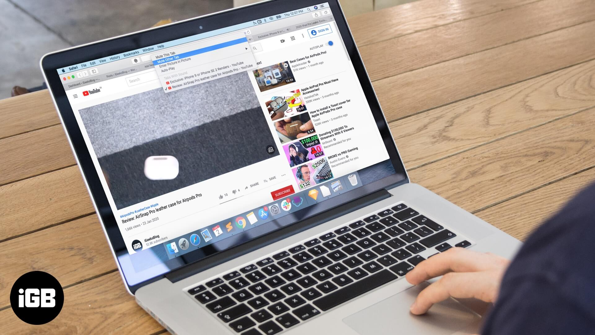 How to Mute Safari Tabs on Mac