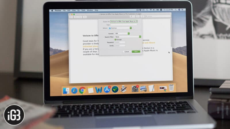How to Password Protect PDF Files on Mac