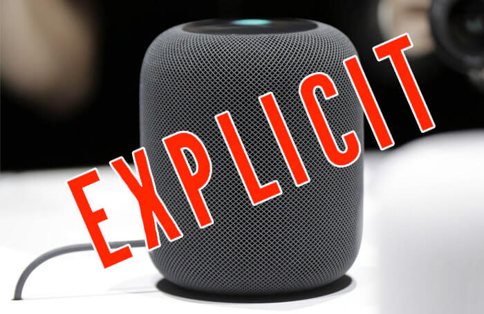 How to Prevent HomePod from Playing Explicit Content