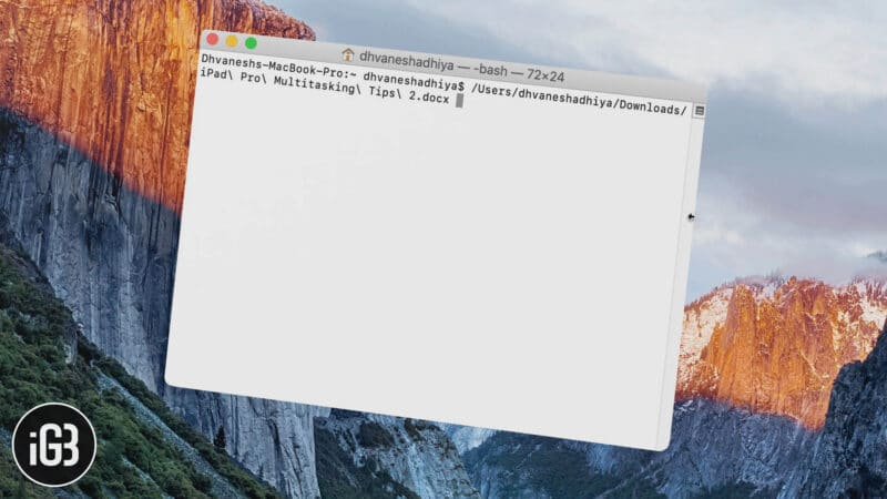 How to Quickly Copy File or Folder Path from Finder on Mac