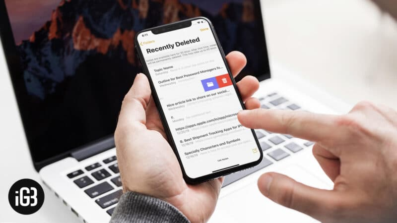 How to Recover Deleted Notes on iPhone, iPad, Mac or Windows PC