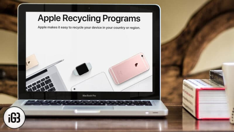 How to Recycle Old Tech Products With Apple Recycling Program