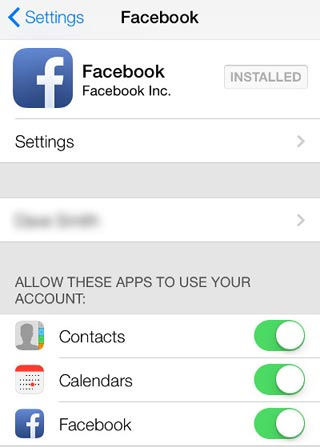 How to Remove Facebook Contacts from iPhone