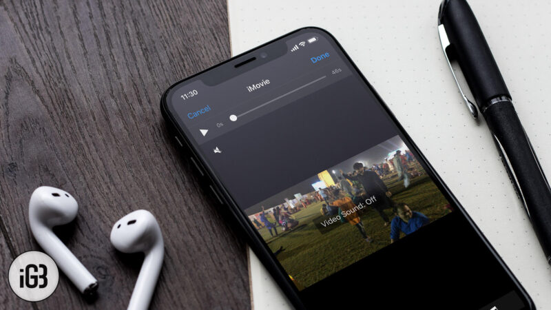 How to Remove Music from iPhone Video