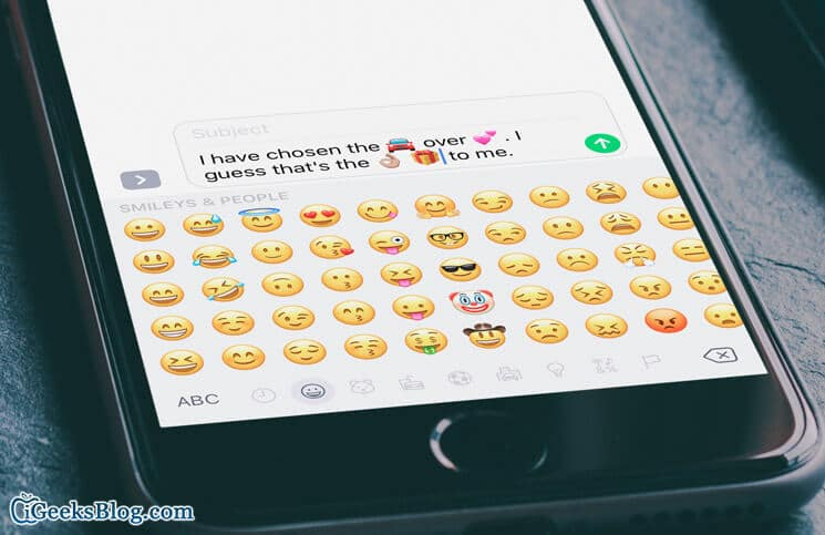 How to Replace Text to Emoji in Messages App on iPhone