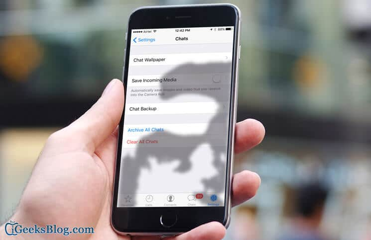 How to Restore Deleted WhatsApp Chat Messages on iPhone
