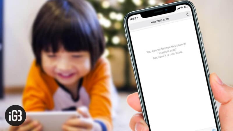 How to Restrict Adult Content in Safari on iPhone and iPad in iOS 12