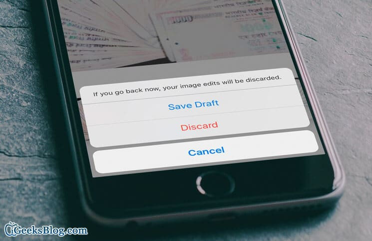 How to Save Instagram Posts as Draft on iPhone