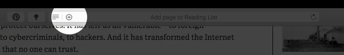 How to Save Web Pages in Safari Reading List on Mac