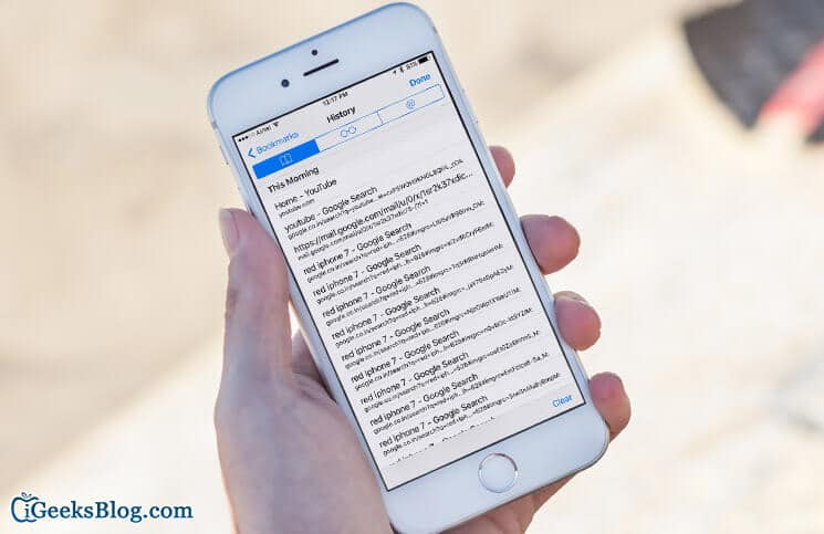 How to Search Safari History and Bookmarks on iPhone-iPad