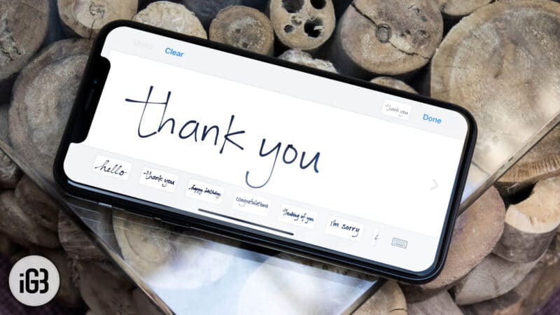 How to Send Handwritten iMessages on iPhone or iPad
