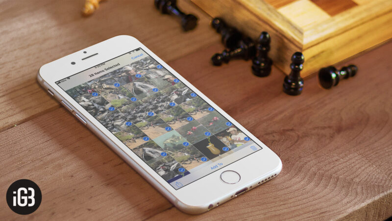 How to Send Multiple Photos via Email iMessage from iPhone