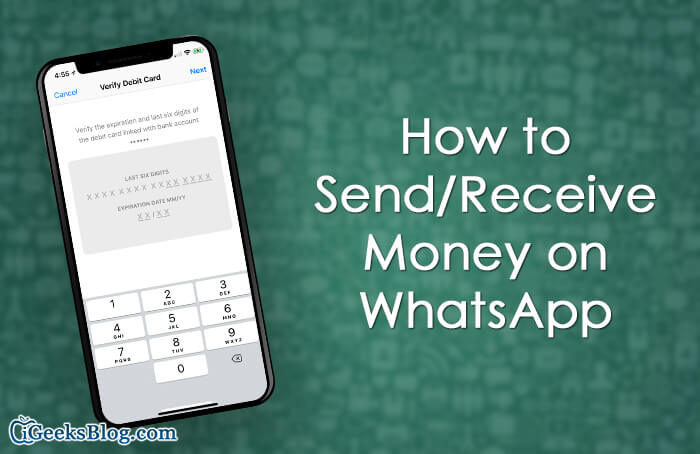 How to Send Receive Money on WhatsApp on iPhone and Android