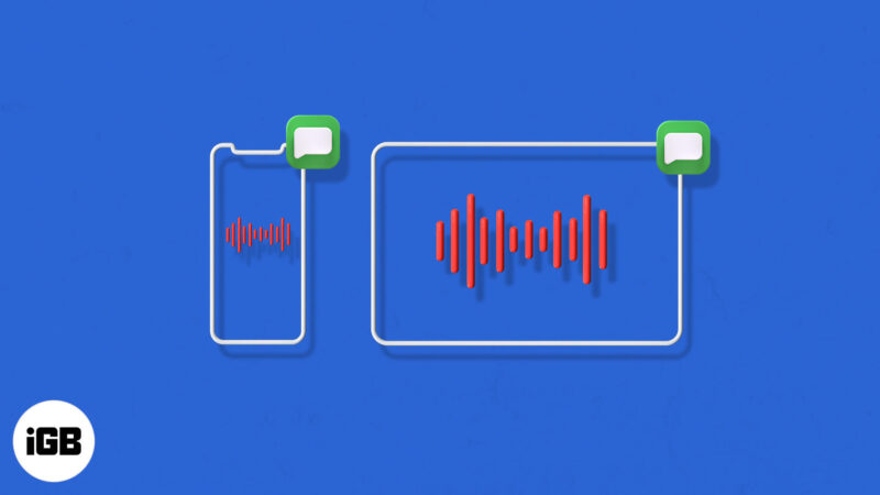 How to Send Voice Messages on iPhone and iPad