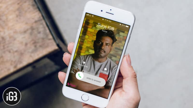 How to Send Your Photo As Caller ID Using Flash iPhone App