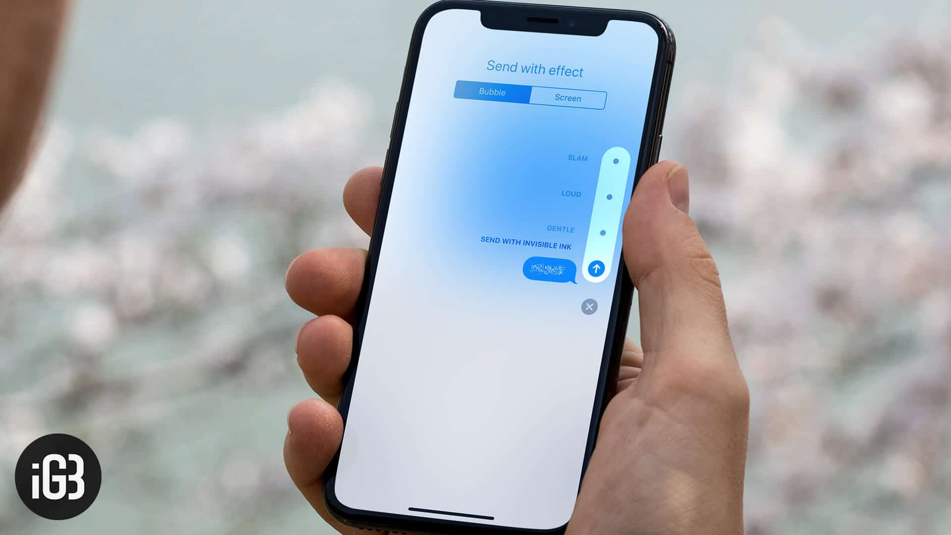 How to Send iMessage with Bubble Effect on iPhone and iPad